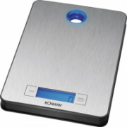 Bomann KW 1420 Kitchen Scales,-> 5 kg, digital, 3 x AAA, Inox  56,00
