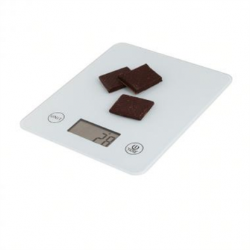 KitchenArtist DOM351W Digital scale, Up to 5kg, LCD display, Ultra slim design, White KitchenArtist Digital kitchen scale Display type LCD, White