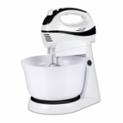 Hand Mixer Adler AD 4206 White, 300 W, Number of speeds 5, Shaft material Stainless steel  22,00