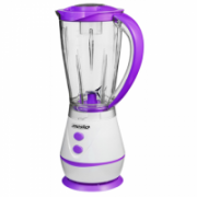 Mesko MS 4060 Blender, Stainless steel blade, Comfortable plastic jar, Pulse function, Power 250W, White/Violet Mesko  18,00