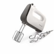 Philips Hand mixer HR3740/00 White/Grey, 450 W, Corded, Number of speeds 5, Shaft material Stainless steel  29,90