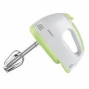 Scarlett SC-HM40S05  White/Green, Hand mixer, 200 W, Number of speeds 7, Shaft material Stainless steel,  17,00