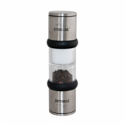 Stoneline stainless steel, PP, ceramics, Capacity of the salt grinder approx. 40 ml; Capacity of the pepper grinder approx. 40 ml  23,00