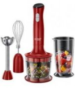 Blender Russell Hobbs 24700-56 3in1 Desire | 500W | red  40,00