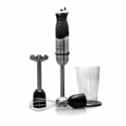 Hand Blender Camry CR 4612 Black/Silver, 800 W, Number of speeds Variable speed control, Mashed potatoes attachment, Shaft material Stainless steel  34,00