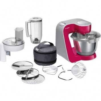Kitchen robot Bosch MUM58420 | red