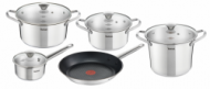 Sets of pots Tefal B815S974 Simpleo | 9 parts  87,00