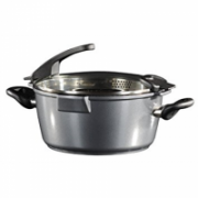 STONELINE 14275 FUTURE Cooking pot 28 cm, with sieve glass lid  87,90