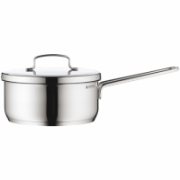 WMF Saucepan MINI  1.2 L, 14 cm,  Cromargan® 18/10 stainless steel, Stainless steel, Dishwasher proof, Lid included  24,00