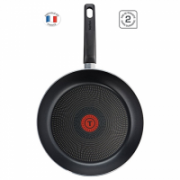 TEFAL B3180402 Frying Pan, 24 cm, Gas, electric, ceramic, Grey, Non-stick coating,  17,00