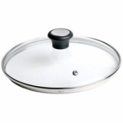 TEFAL 28097812 Glass Lid, 30 cm, Suitable for Talent PRO, Character, CHEF, Duetto, Intuition, Meteor, Pleasure, So Intensive series pans  25,00