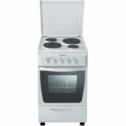Candy CEE5620W Freestanding cooker/50x60/4 Hotplates/Thermostat/ 2 baking trays,1 grill/42L/EC A/White  221,00