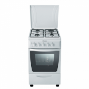 Candy CGM5621BW Freestanding cooker/Gas hob/Electric Oven/42L/EC A/Timer/Metal lid/Adjustable feet/White  225,00