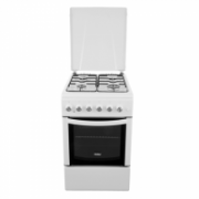 Haier CSGF56MEW Gas Hob/48L/4 burners/Electric Static oven/Timer/EC A/White Haier  216,00