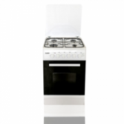 Klass TEE-5640-T/WHITE Freestanding oven with mechanical timer, 50x60, White  218,00