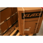 SALE OUT. Klass TEE-5640 W Freestanding oven, 50x60, White Klass DAMAGED ONE CONER AND PACKAGING.  119,00