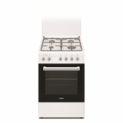 Simfer Cooker 5405SERBB Hob type Gas, Oven type Electric, White, Width 50 cm, Electronic ignition, 43 L, Depth 60 cm  218,00