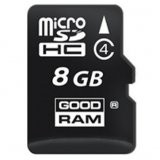 GOODRAM Memory ( flash cards ) 8GB Micro SDHC Class 4  31,00