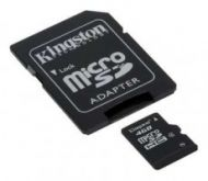 KINGSTON MicroSD HCCard 4GB Class 4  31,00