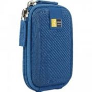 Case Logic ECC101B Compact Camera Case/ EVA/ Blue/ For (8.6 x 3.3 x 12.7 cm)  41,00