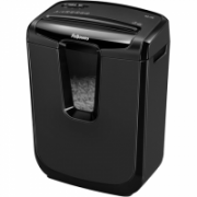 Fellowes Shredder  M-8C Black, 15 L, Paper shredding, Credit cards shredding, Traditional, Paper handling standard/output Shreds 8 sheets per pass into 4x50mm cross-cut particles (Security Level P-3)  100,00