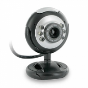 Super power Webcam Silver/Black with Microphone, USB 2.0, Driverless, Blister Package  7,00