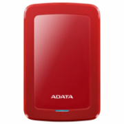 "ADATA External Hard Drive HV300 1000 GB, 2.5 "", USB 3.1, Red  56,00"