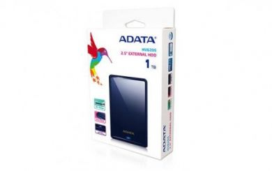 ADATA external HDD HV620S 1TB 2,5''  USB3.0 - blue