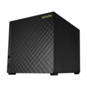 Asus Asustor Tower NAS AS1004T v2 up to 4 HDD, Marvell, ARMADA-385, Processor frequency 1.6 GHz, 0.512 GB  248,00