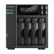 Asus Asustor Tower NAS AS6204T up to 4 HDD/SSD, Intel® Celeron®, 1.6 GHz, 4 GB, SO-DIMM, 2xGbE, USB 3.0, eSATA, Black  475,00