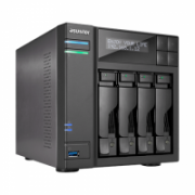 Asus Asustor Tower NAS AS6404T up to 4 HDD/SSD, Intel Celeron Quad-Core, J3455, Processor frequency 1.5 GHz, 8 GB, DDR3L, Black  531,00
