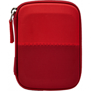 Case Logic Portable Hard Drive Case, Fits devices  15 x 3.5 x 10 cm, Burgundy