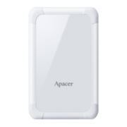 External HDD Apacer AC532 2.5'' 1TB USB 3.1, shockproof, White  53,00