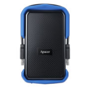 External HDD Apacer AC532 2.5'' 1TB USB 3.1, shockproof, military, Blue  58,00