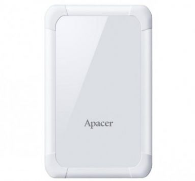 External HDD Apacer AC532 2.5'' 2TB USB 3.1, shockproof, White