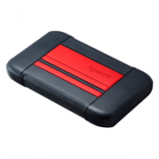 External HDD Apacer AC633 2.5'' 1TB USB 3.1, shockproof military grade, Red  60,00