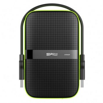 External HDD Silicon Power Armor A60 2.5'' 500GB USB 3.0, IPX4, Black