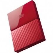 External HDD WD My Passport 2.5'' 3TB USB 3.0 Red  140,00