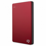 HDD Seagate Backup Plus Slim, 2.5'', 1TB, USB 3.0, red  64,00