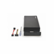 "PORT CONNECT Hard drive external enclosure SATA 3.5 "", Black, USB 3.0  38,00"
