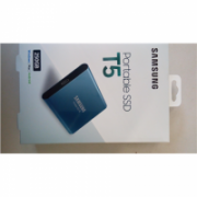 "SALE OUT. Samsung MU-PA250B/EU Portable SSD T5, 250GB, USB up to 540 MB/s Samsung Portable SSD T5 250 GB, 2.5 "", USB 3.1, Blue, DAMAGED PACKAGING  96,00"