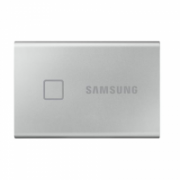 Samsung Portable SSD T7 500 GB, USB 3.2, Silver, with fingerprint and password security  142,00