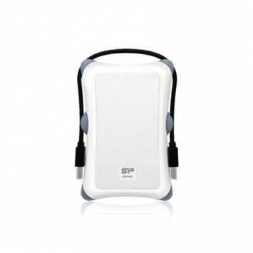 "Silicon Power Armor A30 2TB 2.5 "", USB 3.1, White"
