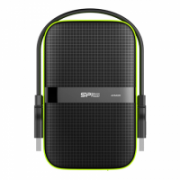 "Silicon Power Armor A60 2TB 2.5 "", USB 3.1, Black/Green  87,00"