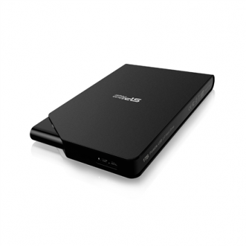 """Silicon Power Stream S03 2000 GB, 2.5 """", USB 3.0, Black, Matte surface treatment resists fingerprints and scratches. Power saving sleep mode. LED light to indicate data transfer activity and power status. Easy Plug in and use - no external adapter require"""
