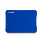 "Toshiba Canvio Connect II 2000 GB, 2.5 "", USB 3.0, Blue, 10 GB Cloud Storage (Pogoplug)  99,00"