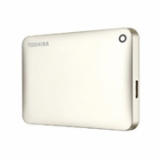 "Toshiba Canvio Connect II 2000 GB, 2.5 "", USB 3.0, Gold, 10 GB Cloud Storage (Pogoplug)  99,00"