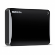 "Toshiba Canvio Connect II 3000 GB, 2.5 "", USB 3.0, Black, 10 GB Cloud Storage (Pogoplug)  123,00"