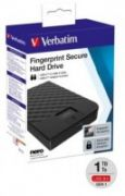 VERBATIM FINGERPRINT SECURE HDD 1TB AES 256 ENCRYPTION USB 3.1 GEN 1 (2.5'')  118,00