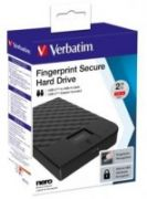 VERBATIM FINGERPRINT SECURE HDD 2TB AES 256 ENCRYPTION USB 3.1 GEN 1 (2.5'')  154,00